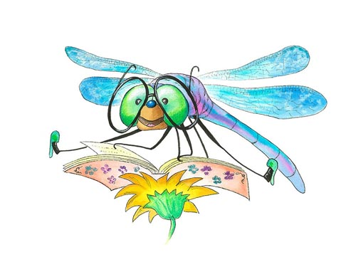 LITTLE GRANDMA DRAGONFLY