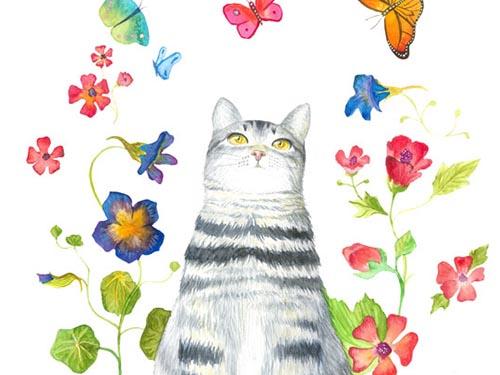 Flower Cat 2