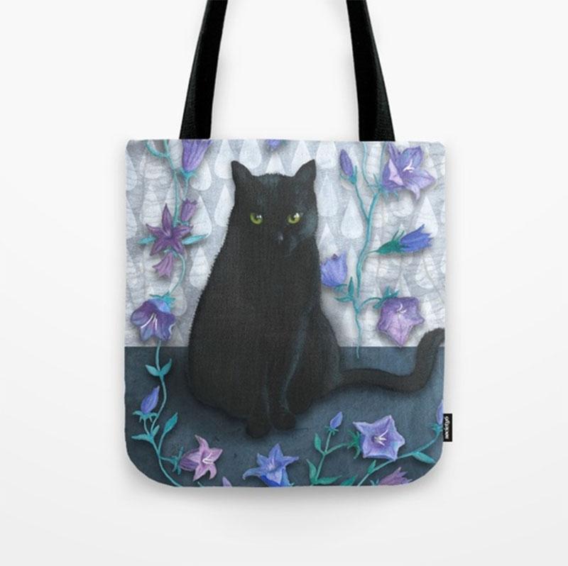 Flowercat_totebag