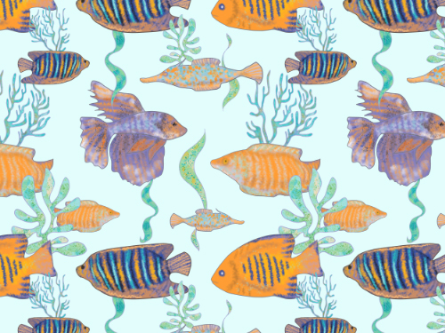 Fish pattern #1