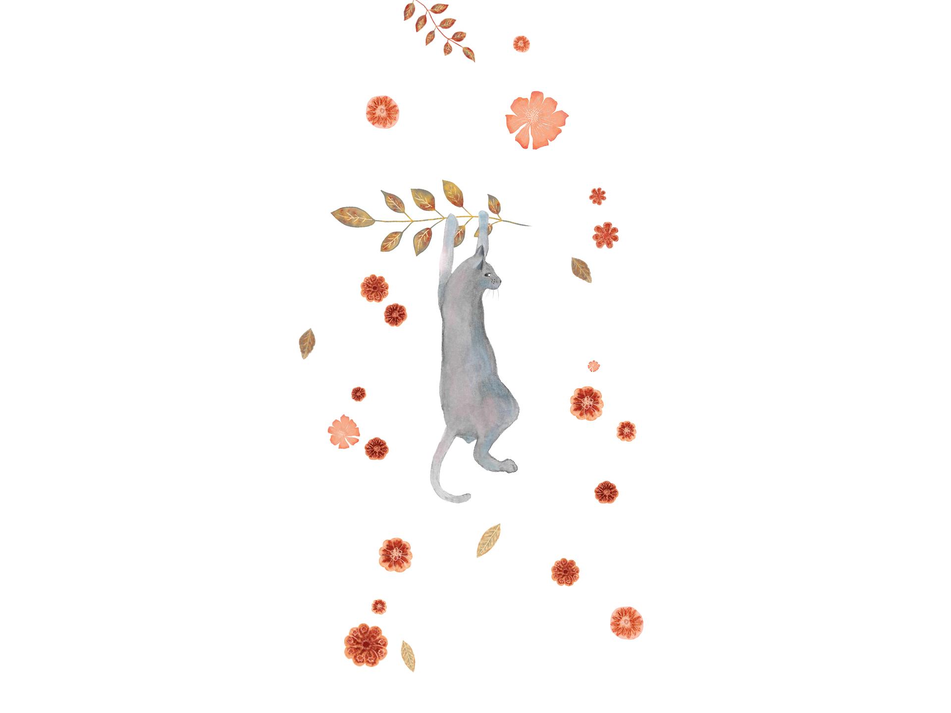 Andreea Dumez welcome page (mushroom house illustration for children)   Children's books illustrator