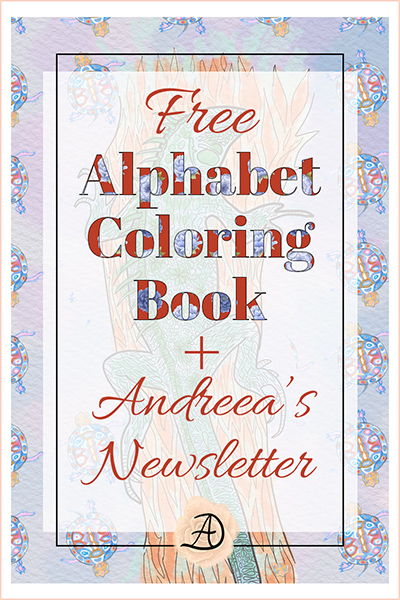 Free coloring book and newsletter subscription