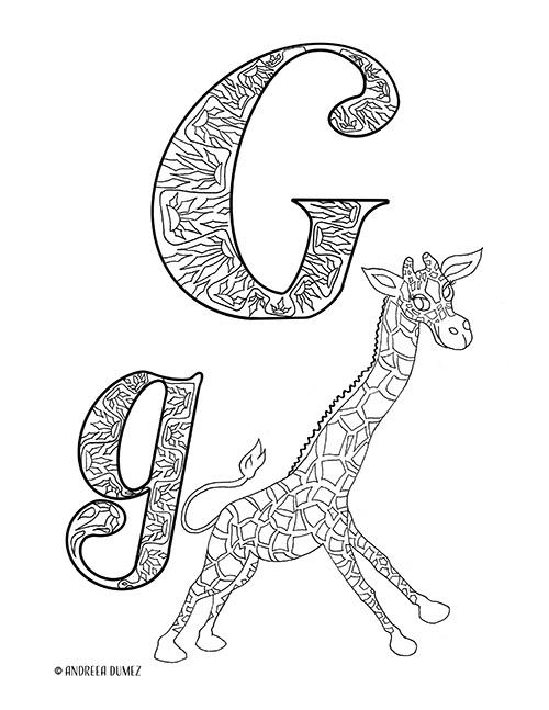 Alphabet-G-lettersize