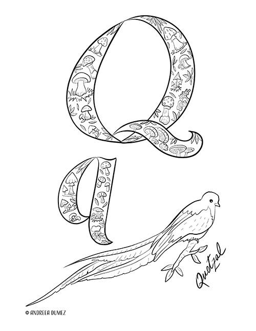 Alphabet-Q-lettersize
