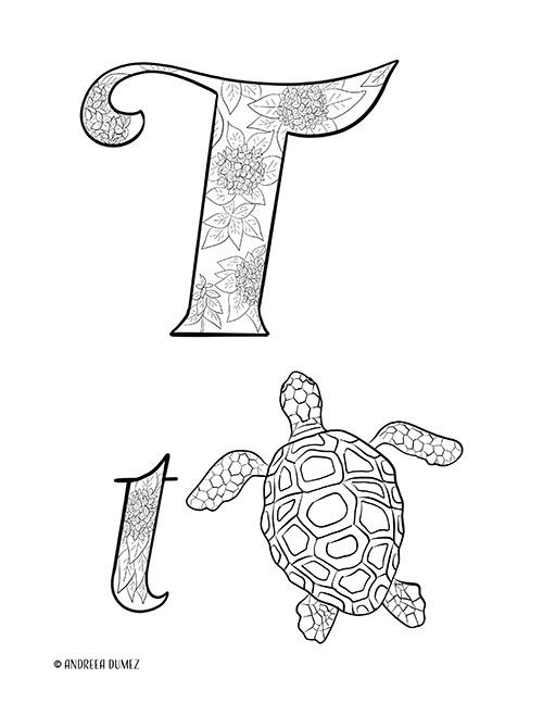 Alphabet-T-lettersize