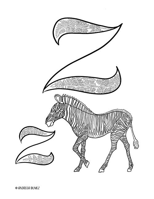 Alphabet-Z-lettersize