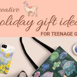 Holiday gifts for teenage girls blog title