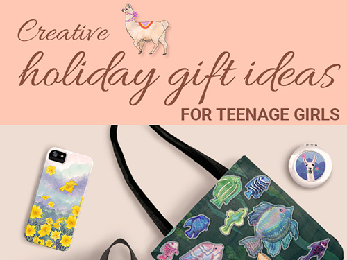 CREATIVE HOLIDAY GIFT IDEAS THAT TEENAGE GIRLS WILL LOVE