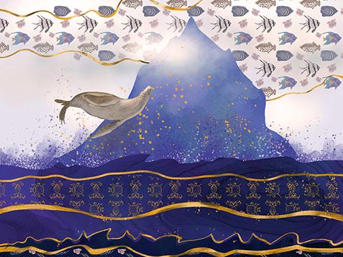 Rising Oceans – Boho Chic Art