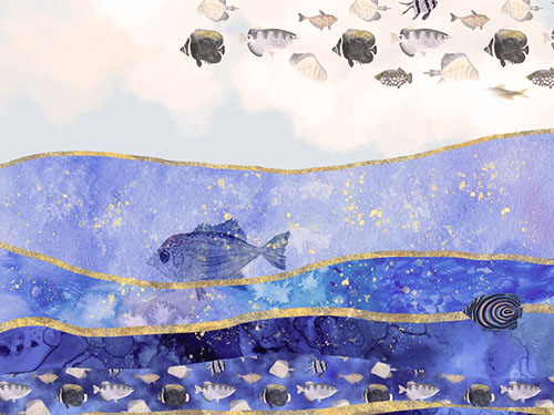 FISH IN THE SKY – SURREAL CLIMATE CHANGE ART