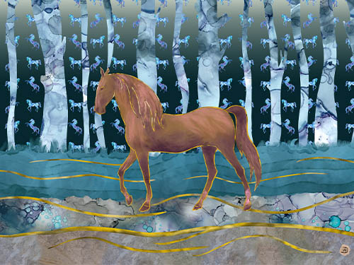 Horse Art – A Decorative Fantasy
