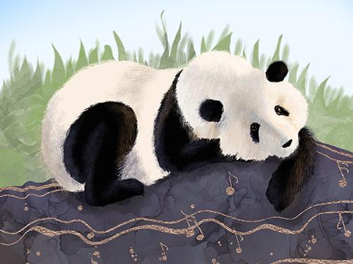 Panda Art Prints